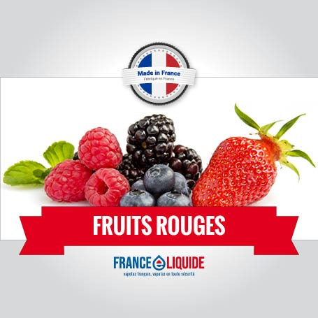 e-liquide fruit rouge