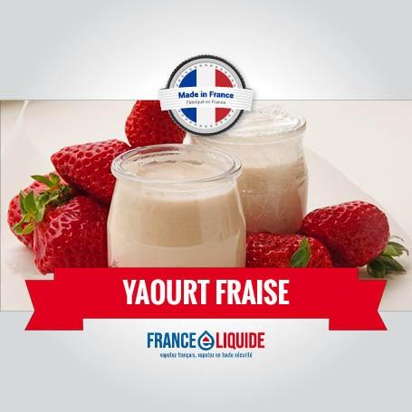 e-liquide saveur yaourt a la fraise 10mL