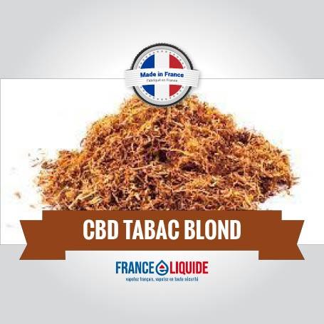 E-liquide CBD Tabac Blond 10ml