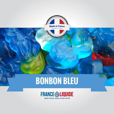 e-liquide saveur bonbon bleu 10mL
